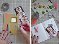Packaging, mail, washi tape