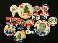 Campaign Buttons & Signs