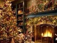 everything Christmas, trees, wreaths, and Jesus is the reason for the season
