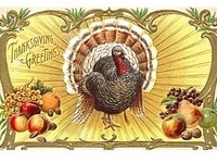 Thanksgiving Cards - Victorian Style