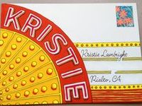 Mail art and other crafty envelope projects