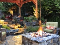 OUTDOOR LIVING, The Deck, The Garden, and Landscape...