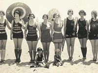 Beautiful fashions from way back when