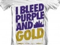 I Bleed Purple and Gold!