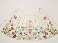 18th Century Aprons, Handkerchiefs and Sleeve Ruffles