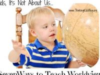 Bible projects, ideas, curriculums, articles and printables for the at-home education.