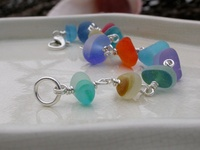Ideas for seaglass and beach crafts :)