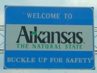 I lived in Arkansas exactly 30 years. I was born and raised there, and moved on my 30th birthday. My homeland forever.
