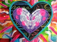 ArtEd- Valentines, hearts, Jim Dine
