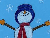 ArtEd- Snowmen