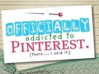 I am SO addicted to PINTEREST!!!