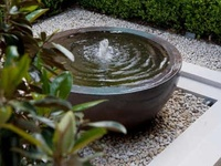 Le jardin urbain on pinterest water features planters for Jardin urbain