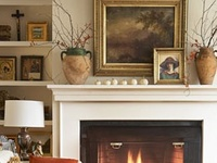 ideas for decorating, Fireplace mantle