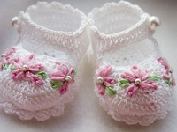CROCHET (BABY SHOES)