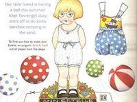 Paper dolls - Mary Englebreit