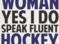 Hockey is in my blood........