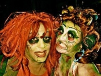 zombie fashion: make-up tutorials and other inspiring zombie photos, tips, accessories and videos...