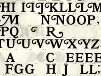 letters & type