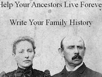 I have been tracing ancestors in both my lines and my husband's lines for many years.  I do this as time permits and I absolutely love it! It's a huge puzzle that walks us through history. Not only do we discover information about our family members, we learn what was happening in the world around them during their place in time. For me, genealogy research is a never ending treasure hunt. I hope you are enjoying your research as much as I enjoy my own!