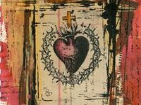 Examples of Art Journals, Pages in Art Journals, Altered Books,