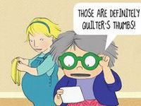 Funny Funny Quilter