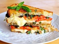 Sandwiches on Pinterest | Paninis, Brie and Prosciutto
