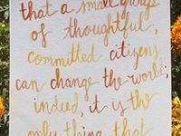 Inspiration, quotes, etc.