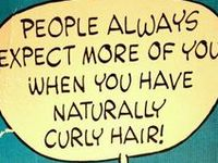Curly Hair - Few Understand :-)