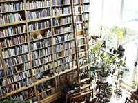 The bookshelves that dreams are made of.