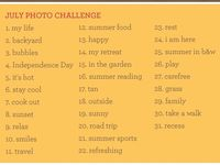 Photography Challenges