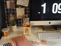 Home office - in detail / Home office ideas and inspiration, home decor, office inspo, desks, computers, interior styling, home styling, study, industrial decor