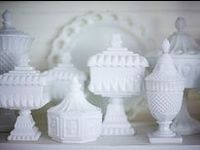 Milk glass originated around the 16th century in Venice, Italy. The glass of that time came in many colors. By the 19th century, glass makers referred to it as opaque glass. It was considered a high class, luxury item. The American Gilded Age of the 20th century held some of the best made milk glass ever. Determining the time era from which a piece might have come is quite difficult for the average collector, because not all pieces have identifying markings.