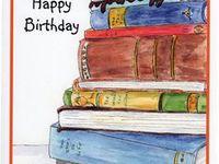 36 Happy Bday Bookworm Love Of Books Ideas Birthday Cards Happy Birthday Book Birthday Book