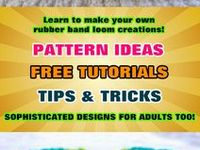 Easy and creative designs for the Rainbow Loom, the Cra-Z-Loom and the FunLoom
