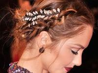 style: hair for nighttime