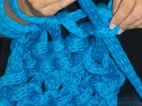 I started crocheting in December 2011 and have never had enough yarn since!