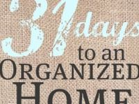 Ideas for homemaking, organizing and general house-wivery