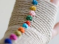 Threads/yarns - gloves & mittens