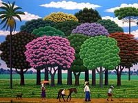 Selected Naive art paintings from around the world