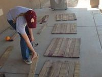 Who would have ever thought!!! Have fun building and designing your own pallet dreams!