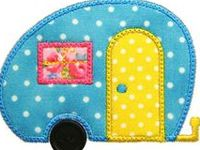 Machine embroidery/applique/in the hoop tutorials and files.