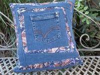 Crafts Blue Jean Lady