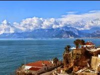 Turkey - Antalya Region / The Antalya region is in the south of Turkey and, as well as its permanent residents, hosts lots of tourists and university students. It all makes for an intersting mix. :) City life, beaches, mountains, archaeology. We love this region.