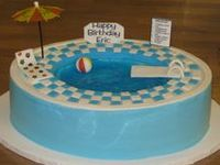 Cool Pool Cakes