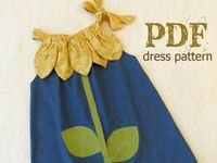 Easy to sew and embellishment ideas for children's clothes and accessories.
