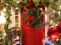 About christmas front door on pinterest christmas door front doors