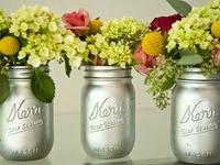 mason jars, bell jard, home decor