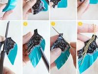 Jewelry making with links to tutorials. Check out my other DIY boards for more crafty ideas!