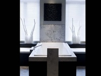 The world's best of timeless, modern / contemporary bathroom and powder room designs.