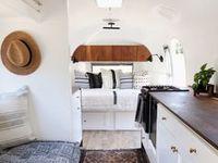 150 Airstream Interiors and Decor ideas | airstream interior, airstream, vintage airstream